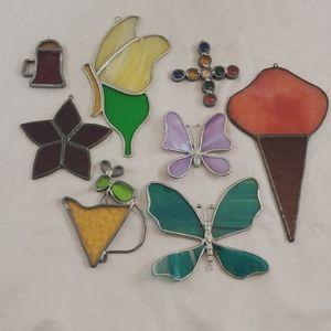 Stain Glass Suncatchers Bundle